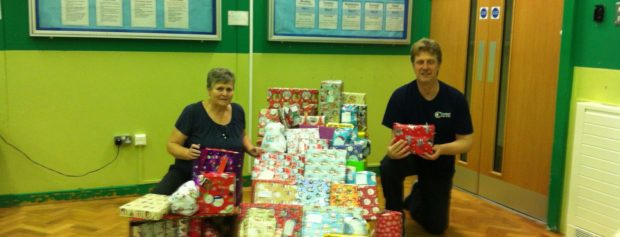 Christmas presents for disadvantaged kids in our area
