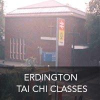 Erdington tai chi class